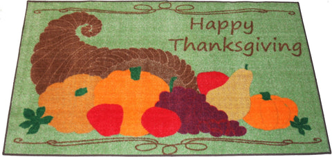 HAPPY THANKSGIVING DECORATION RUG