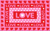 LOVE VALENTINE DECORATIONS RUG