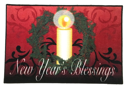 NEW YEARS BLESSINGS RUG