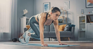 How can you stay fit at home?