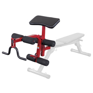 Best Fitness Leg Developer and Preacher Curl Attachment BFPL10
