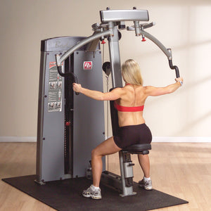 Body-Solid Pro Dual Pec and Rear Delt Machine DPEC-SF