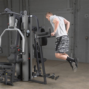 Body-Solid Vertical Knee Raise and Dip Station for G9S GKR9