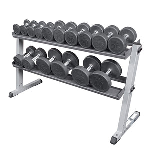 Body-Solid 2 Tier Pro Dumbbell Rack GDR60