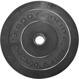 Body-Solid Chicago Extreme Bumper Plates Set OBPXCKP100