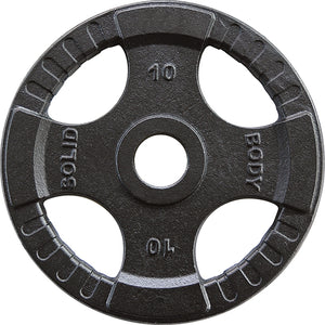 Body-Solid Olympic 4 Grip Iron Plates OPTK