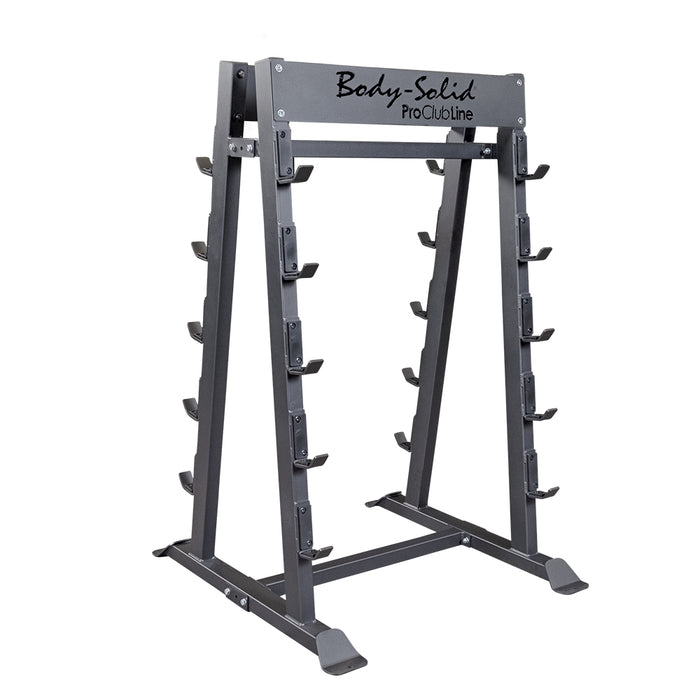 Pro Clubline Fixed Weight Barbell Rack SBBR100