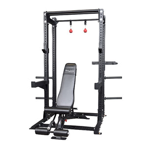 Pro Clubline Extended Commercial Half Cage Package SPR500BACKP4