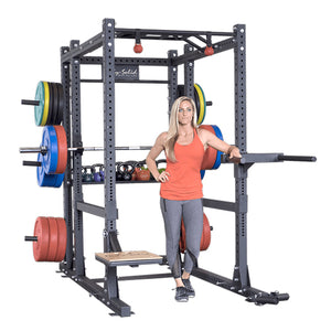 Body-Solid  Commercial Extended Power Rack Package SPR1000BACKP4