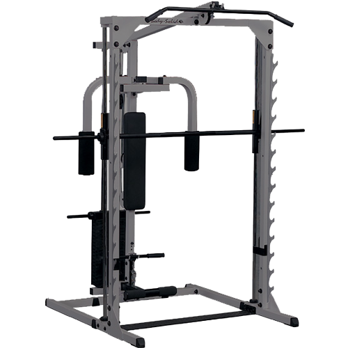 Body-Solid 3 in 1 Smith Machine full option GBF483