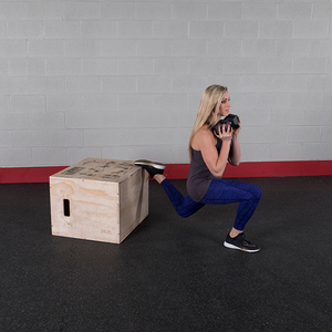 Body-Solid Tools 3-In-1 Wooden Plyo Box BSTWPBOX