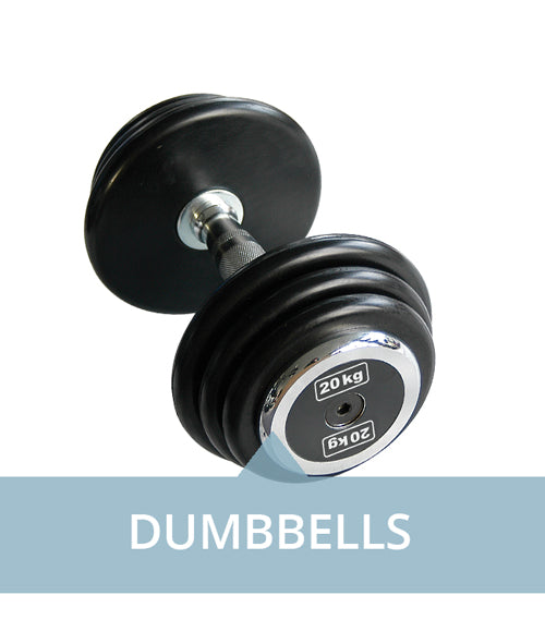 Dumbbells for professional use