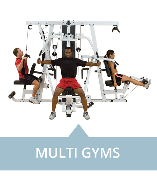 Multi-Gyms for professional use