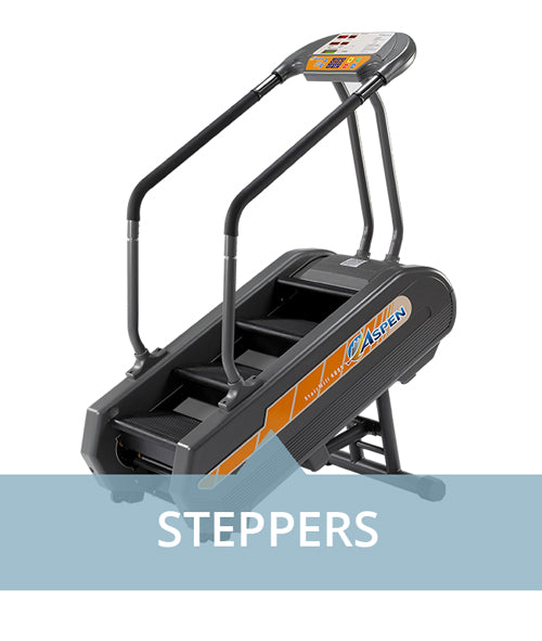 Steppers for professional use