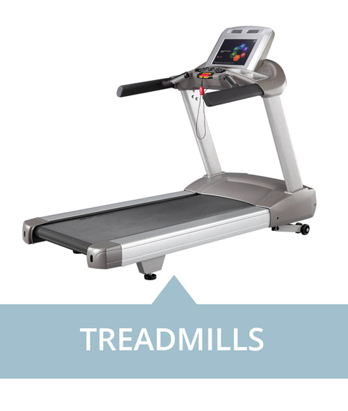 Treadmills for professional use