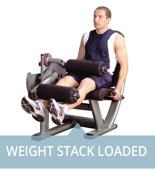 Weight Stack Loaded Machines for professional use