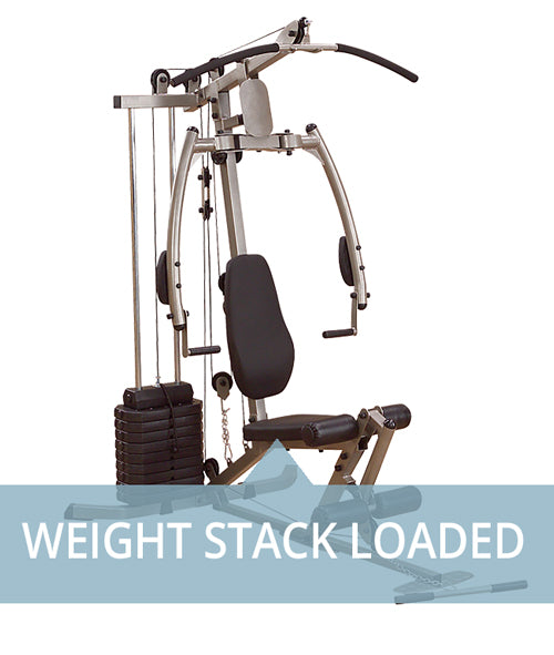 Weight Stack Loaded Machines for home use