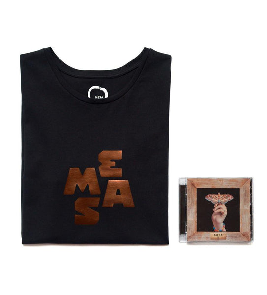 Unisex T-Shirt and CD — MESA Bronze Heart (Charity Edition)