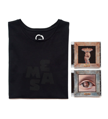 Unisex T-Shirt and 2x CD Duo Pack — MESA Heart