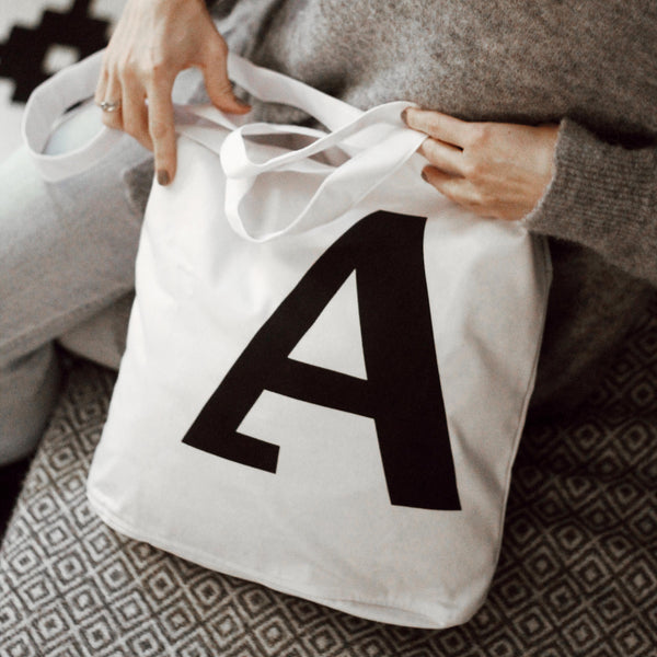 [New] Tote Bag — Iconic Cirulis Letter