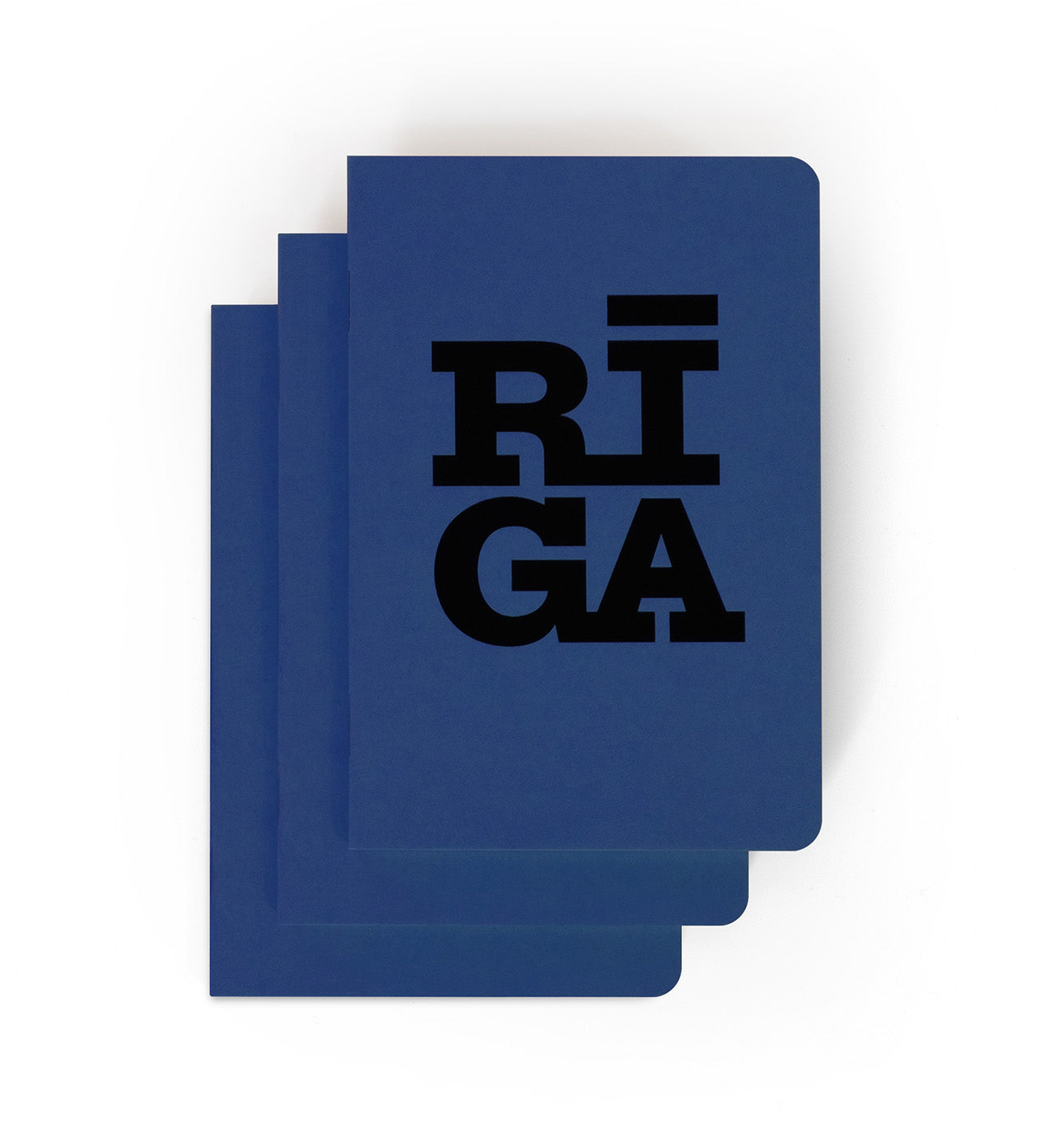 [NEW] Notebooks 3 pack — Riga Original® (Blue)