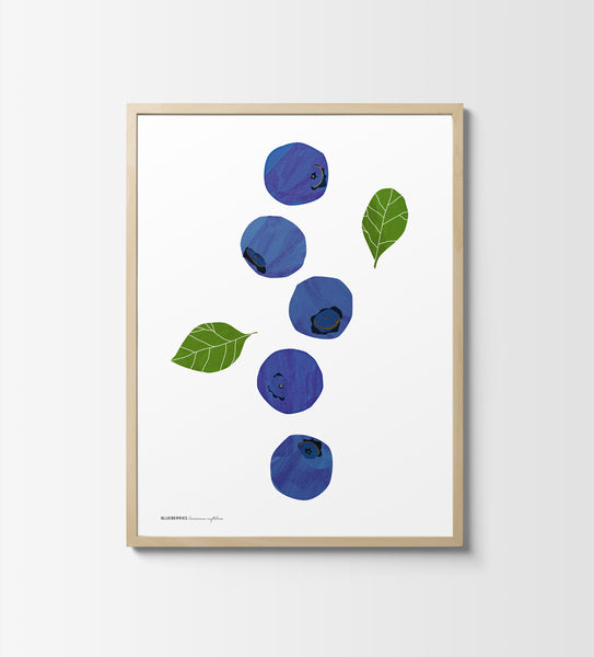 Blueberry — Graphic Print