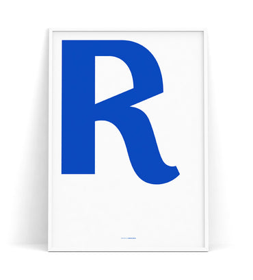 Cirulis Display Letter R
