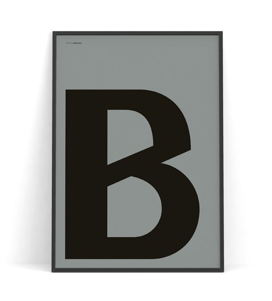 Cirulis Display Letter B