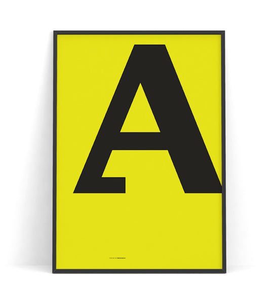 Cirulis Display Letter A