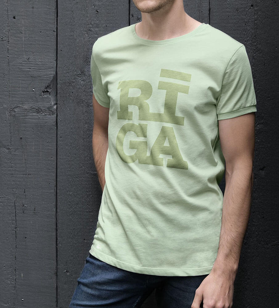 Riga Original Premium T-shirt - Mint
