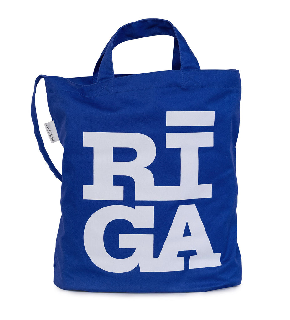 [NEW] Tote Bag — Riga Original® (Blue)