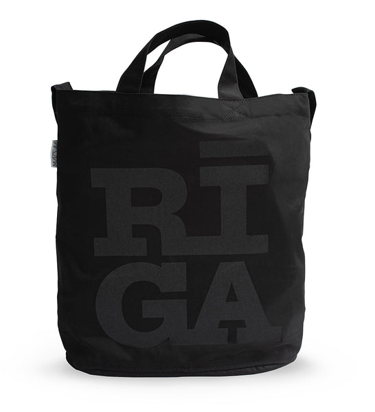 Tote Bag — Riga Original® (Monochrome Black)