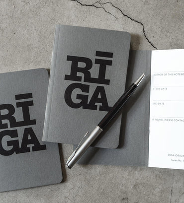 [NEW] Notebooks 3 pack — Riga Original® (Grey)