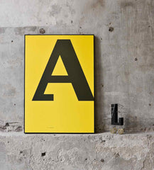 Cirulis Display Letter A poster
