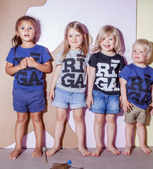 Riga logo children T shirt