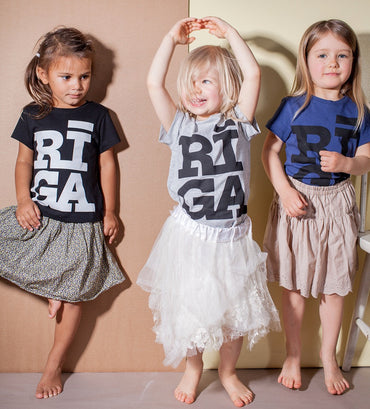 Riga logo girl T shirt