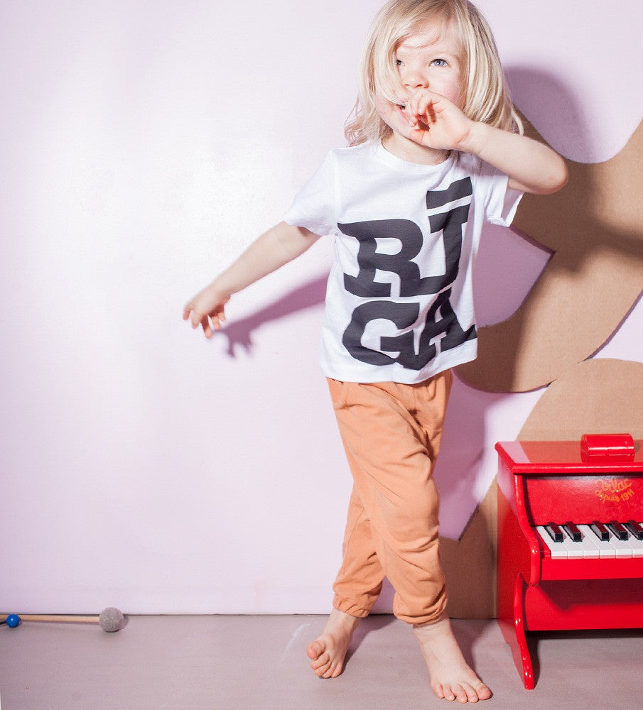 Riga logo toddler T shirt