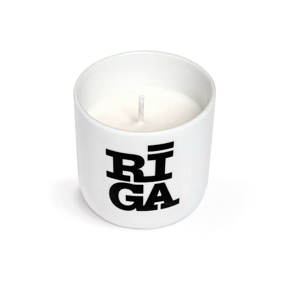"Scented Soy Wax Candle  —  ""Riga Original®"""