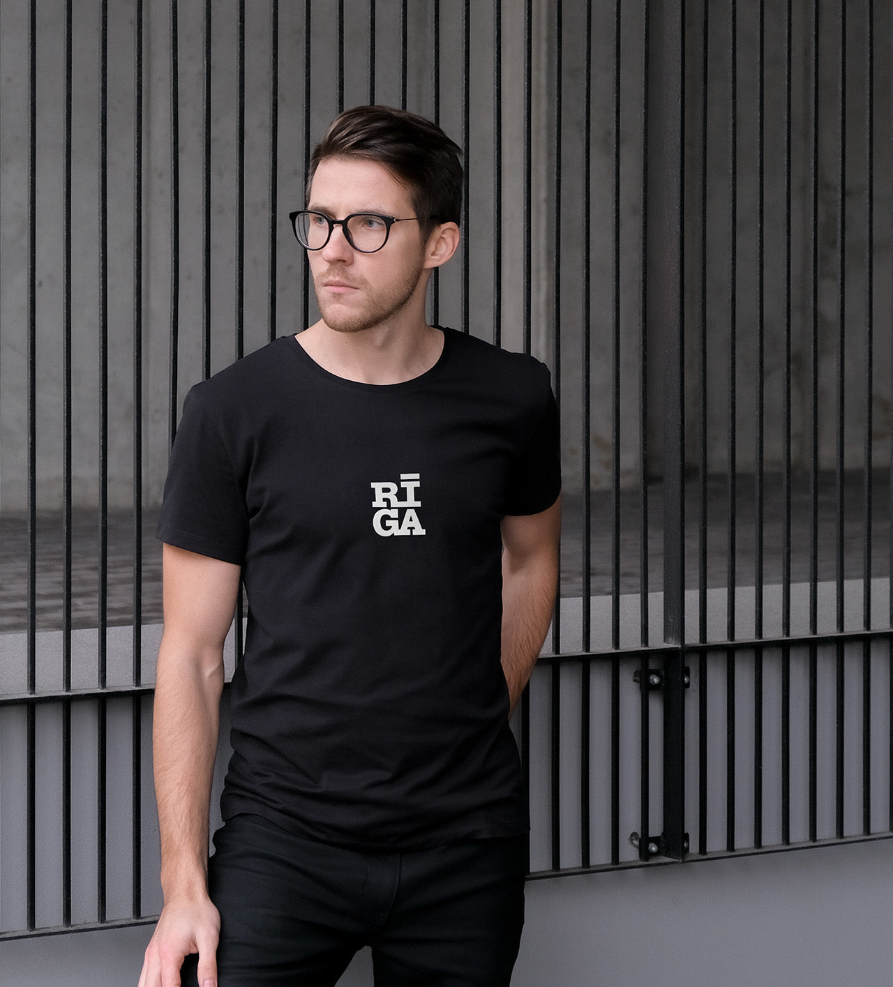 [NEW] Unisex T-shirt — Riga Original® Mini (Black)