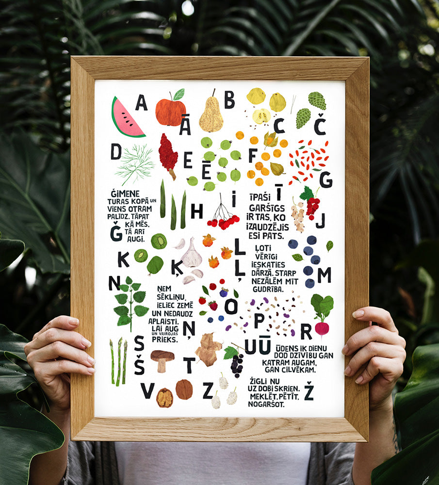 Graphic Print — ĀBECE Alphabet
