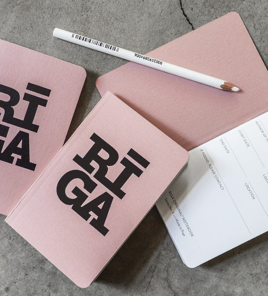 Notebook — Riga Original® (Pink, 3-pack)