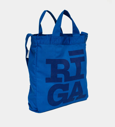 Tote Bag — RIGA Original® (Denim Blue)