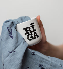 RIGA logo coffee mug