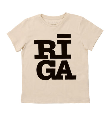 Made in Riga organic cotton T-shirt for kids