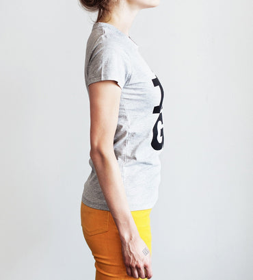 Ladies T-shirt — RIGA Original® (Melange)