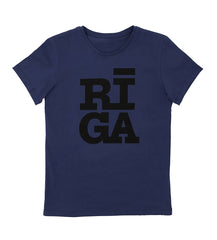 Unisex T-shirt — Riga Original® (Navy)