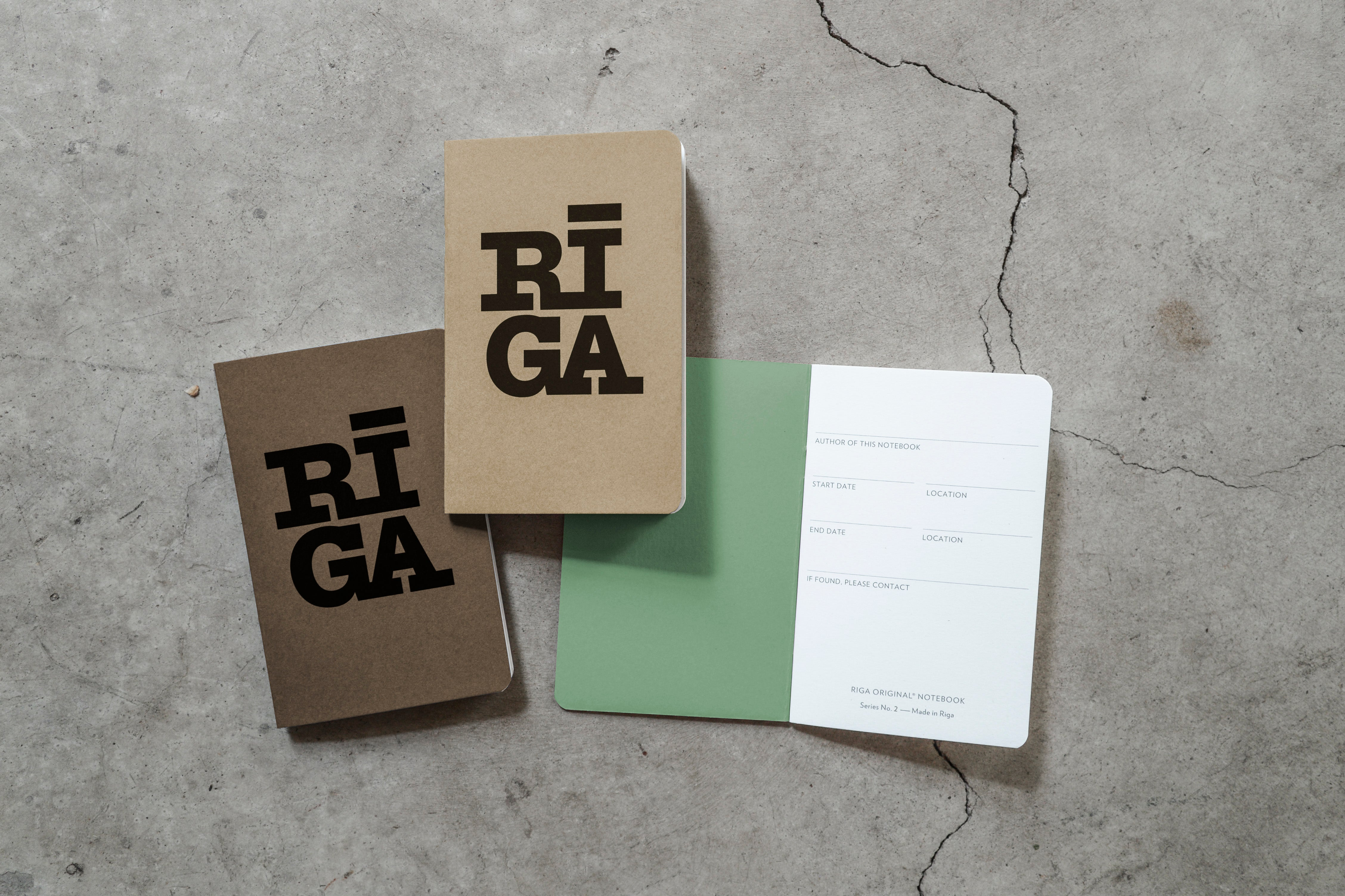 Notebook — Riga Original® (Mixed, 3-pack)