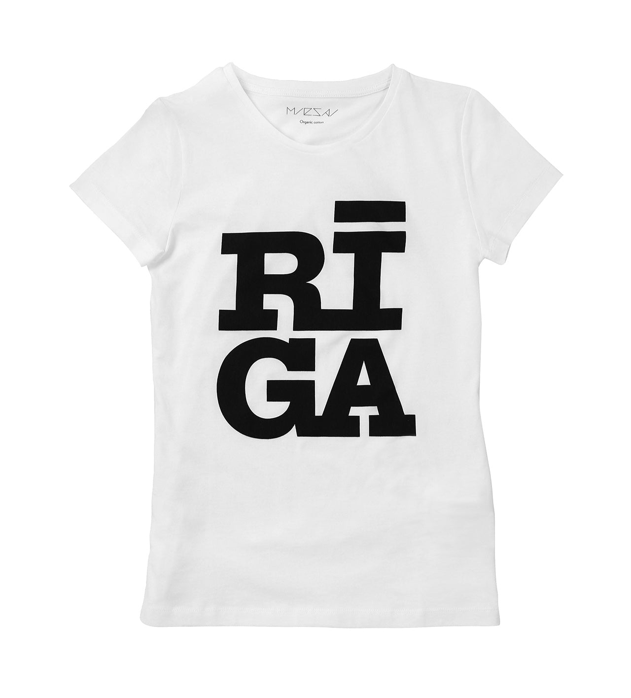 Ladies T-shirt — Riga Original® (White)