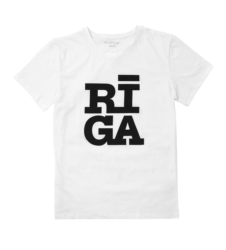 Unisex T-shirt — Riga Original® (White)