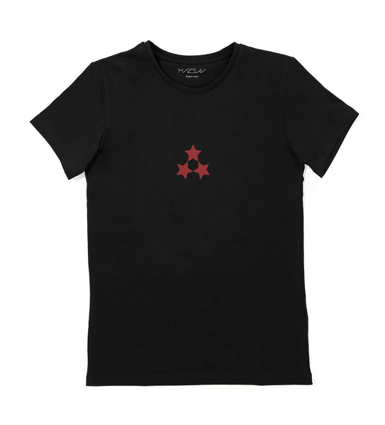 [New] Unisex T-shirt  —  3 Stars (Black)